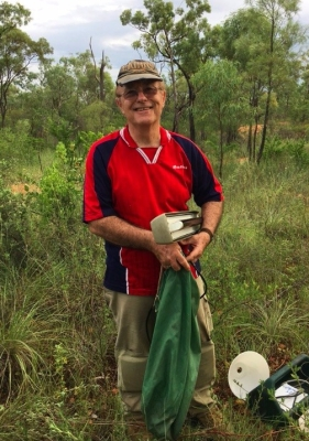 Fellow entomologist and katydid expert David C. F. Rentz who spent time traveling and collecting with me around QLD, Australia (1) copy